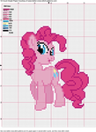 Pinkie Pie Cross Stitch Pattern