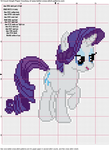 Rarity Cross Stitch Pattern