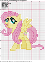 Futtershy Cross Stitch Pattern by AgentLiri