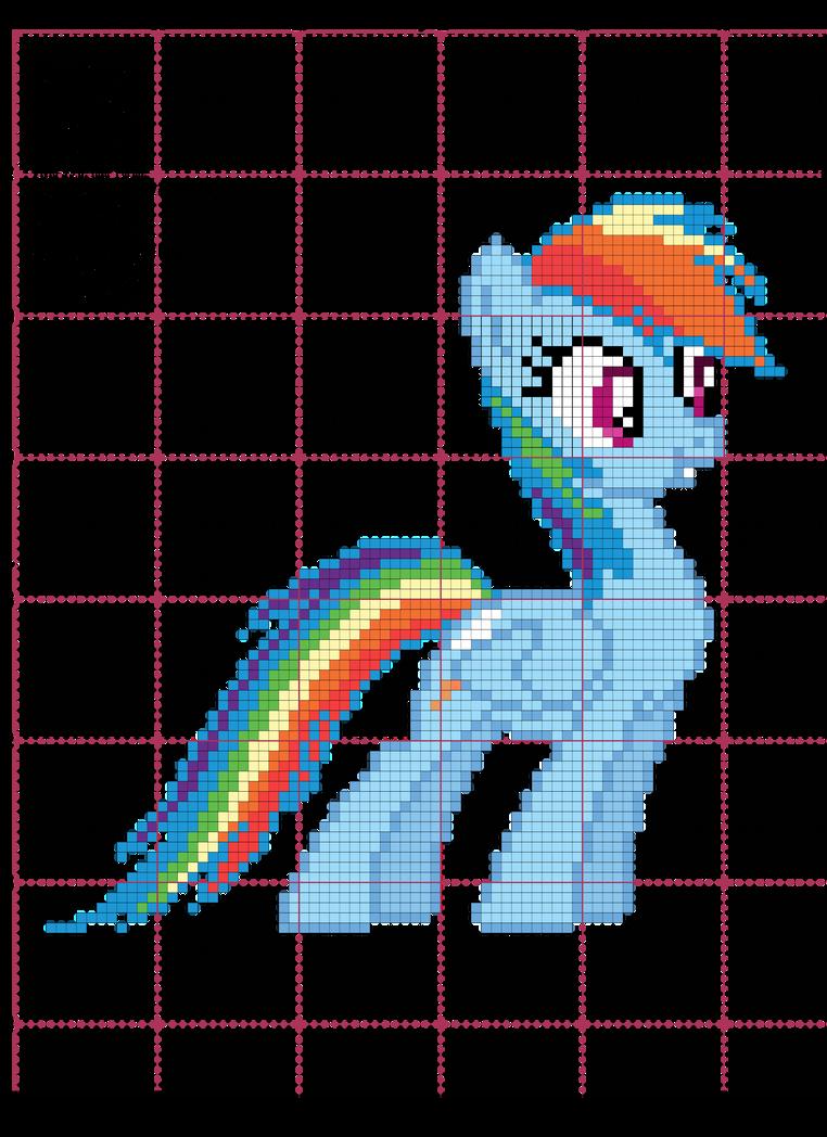 Rainbow Dash Cross Stitch Pattern By Agentliri On Deviantart