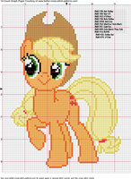 Apple Jack Cross Stitch Pattern by AgentLiri