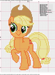 Apple Jack Cross Stitch Pattern