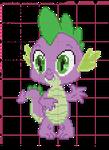 Spike Cross Stitch Pattern