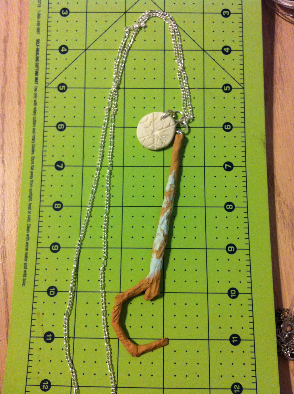 Rise of the Guardians: Jack Frost Necklace :4Sale: by AgentLiri
