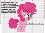Pinkie Pie Filly Cross Stitch Pattern