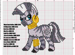 Zecora Cross Stitch Pattern
