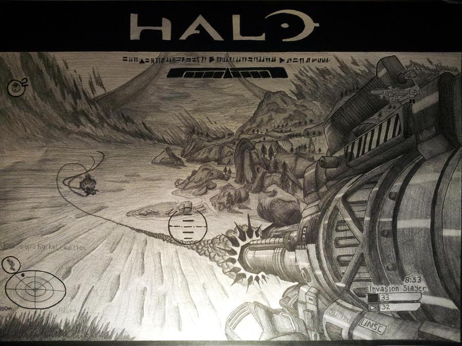 Halo, Rocket by LighterShadeOfGrey72
