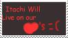 Itachi Stamp by Tsukireimei100