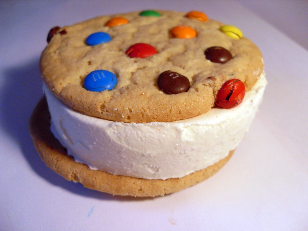 Ice Cream Sandwich Cookies Recipe — Dishmaps