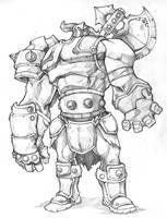 Warlord by thiago-almeida
