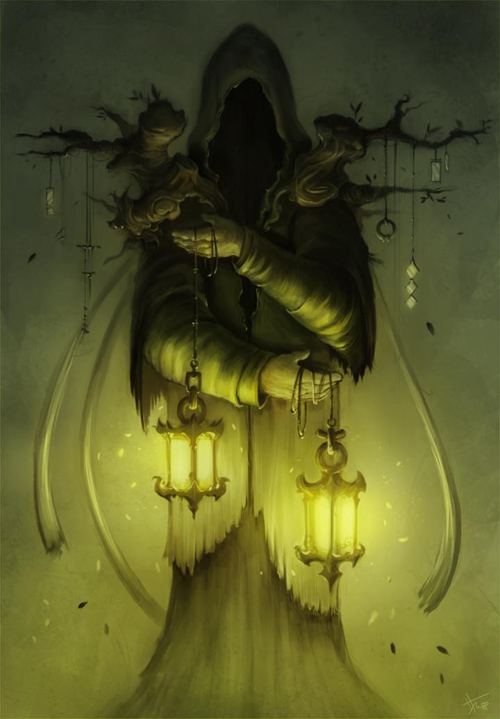 Druid wanderer by thiago-almeida