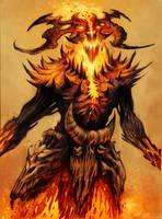 Fire lord by thiago-almeida