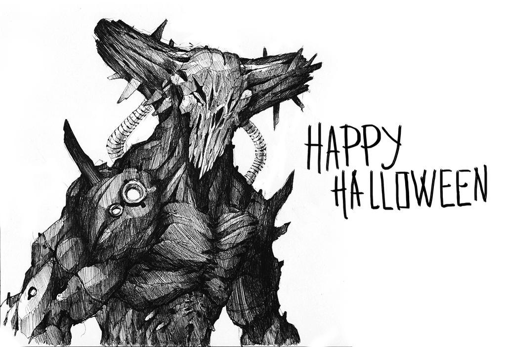 Happy Halloween! by thiago-almeida