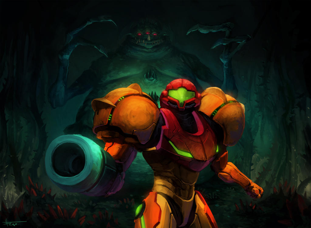 Super Metroid by thiago-almeida