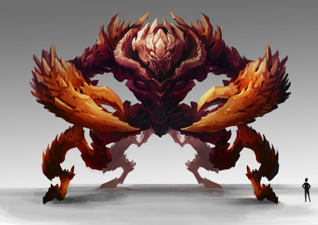 Giant King Crabs King Crab by Thiago Almeida