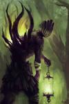 Walking Druid