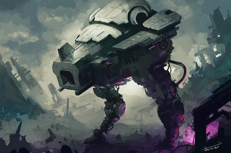 sketch_Mech Purple by thiago-almeida