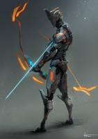 Mech Archer by thiago-almeida