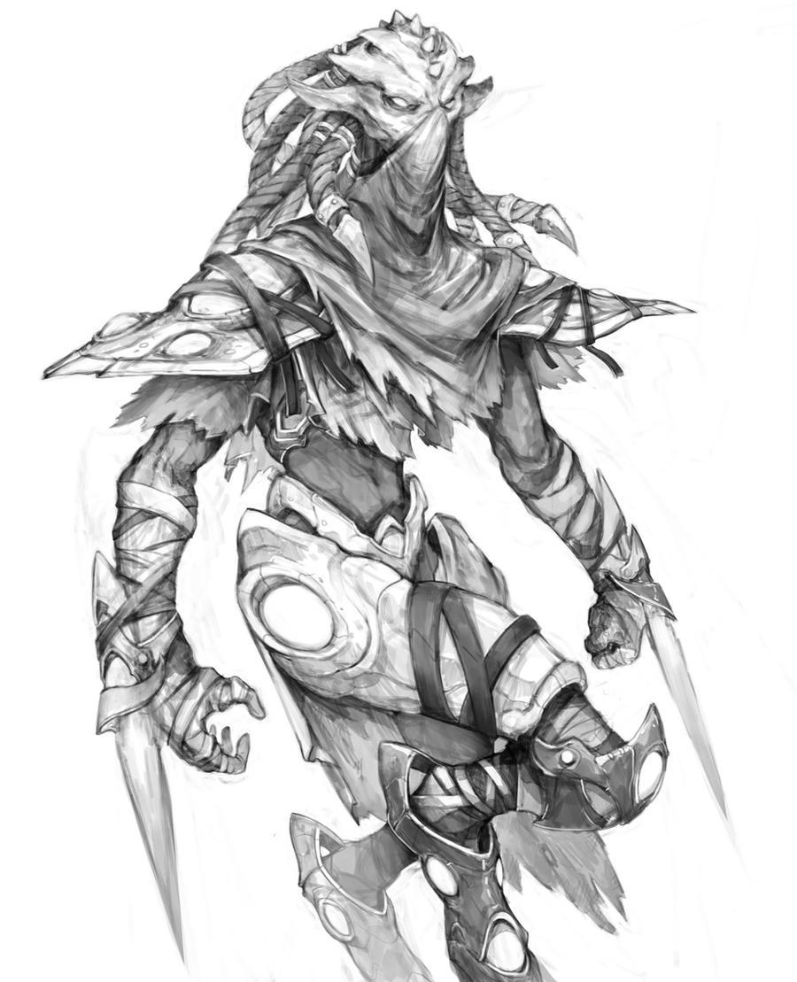 Protoss Assassin by thiago-almeida