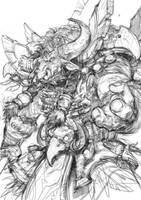 Hamuul Runetotem_sketch by thiago-almeida