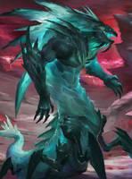 creature_002- Kraken by thiago-almeida