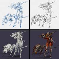 3#Berseker Sniper - Process by thiago-almeida