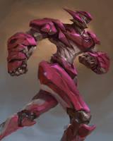 mech character design by thiago-almeida