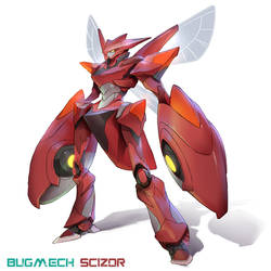 Bugmach + Pokemon by thiago-almeida
