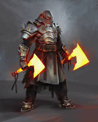 Orusha, the Fire Hands Clan