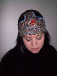 Tribal head dress by NeSempai