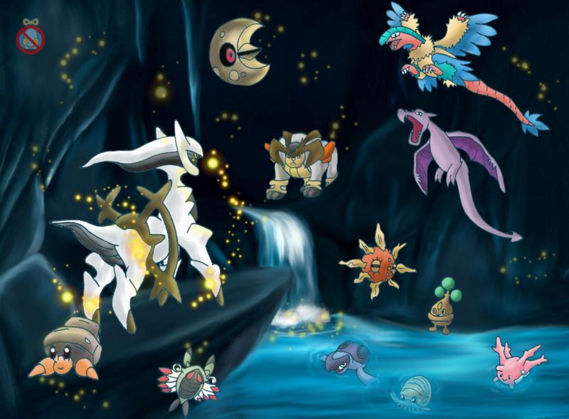 all dragon rock type pokemon