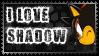I love Shadow STAMP by shadowhatesomochao