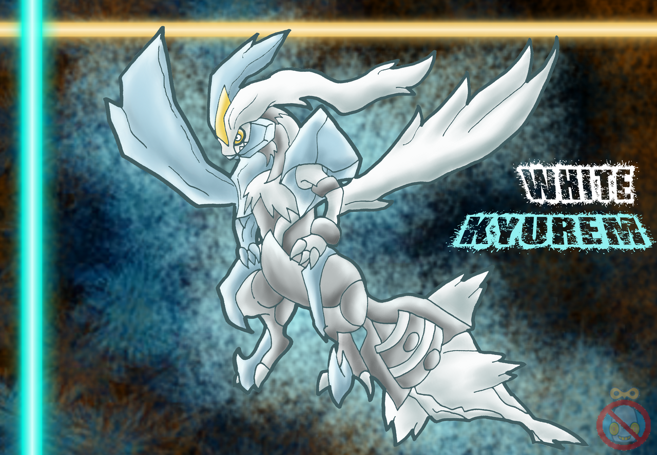 White Kyurem Wallpaper by shadowhatesomochao