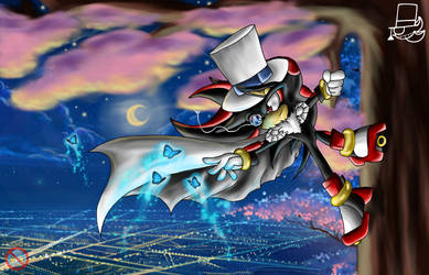 Kaito Shadow: chasing butterflies by shadowhatesomochao