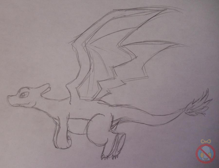 Charizard flying sketch by shadowhatesomochao on DeviantArt
