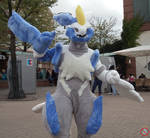 White Kyurem cosplay by shadowhatesomochao