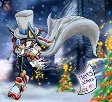 CE: Kaito Shadow MERRY Christmas by shadowhatesomochao