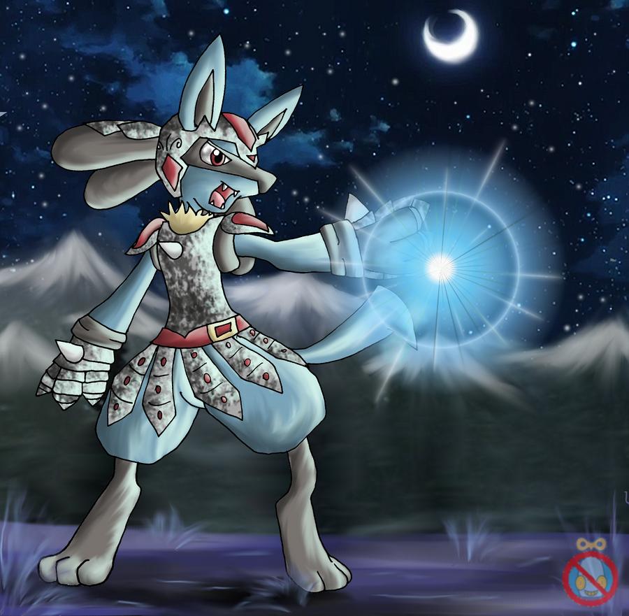 CM: Lucario in armor by shadowhatesomochao