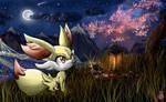 CE: Fennekin Wallpaper Pokemon X Y Generation 6