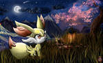 CE: Fennekin Wallpaper Pokemon X Y Generation 6