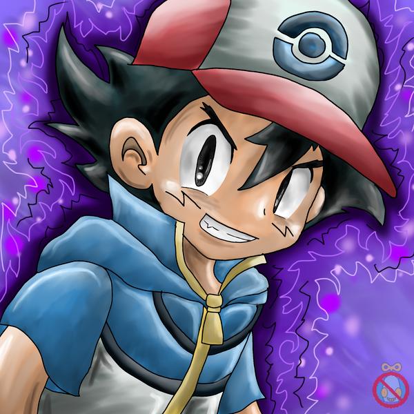 Dark Ash Ketchum Avatar Pokemon by shadowhatesomochao on ...