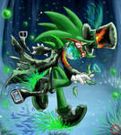CE: Scourge the hedgehog by shadowhatesomochao