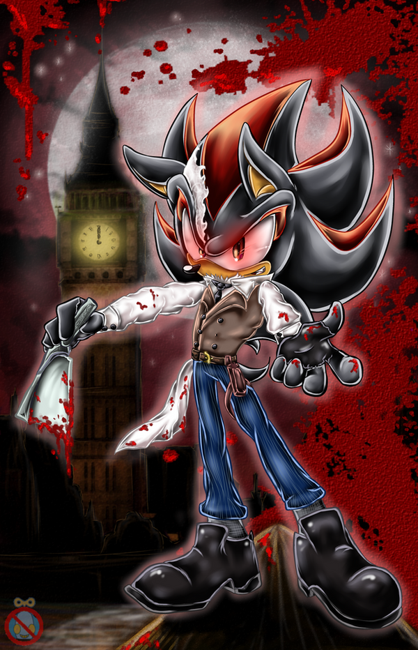 Shadow the hedgehog is - Sweeney Todd by shadowhatesomochao