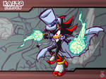 Kaito Shadow Sonic Battle Wallpaper by shadowhatesomochao