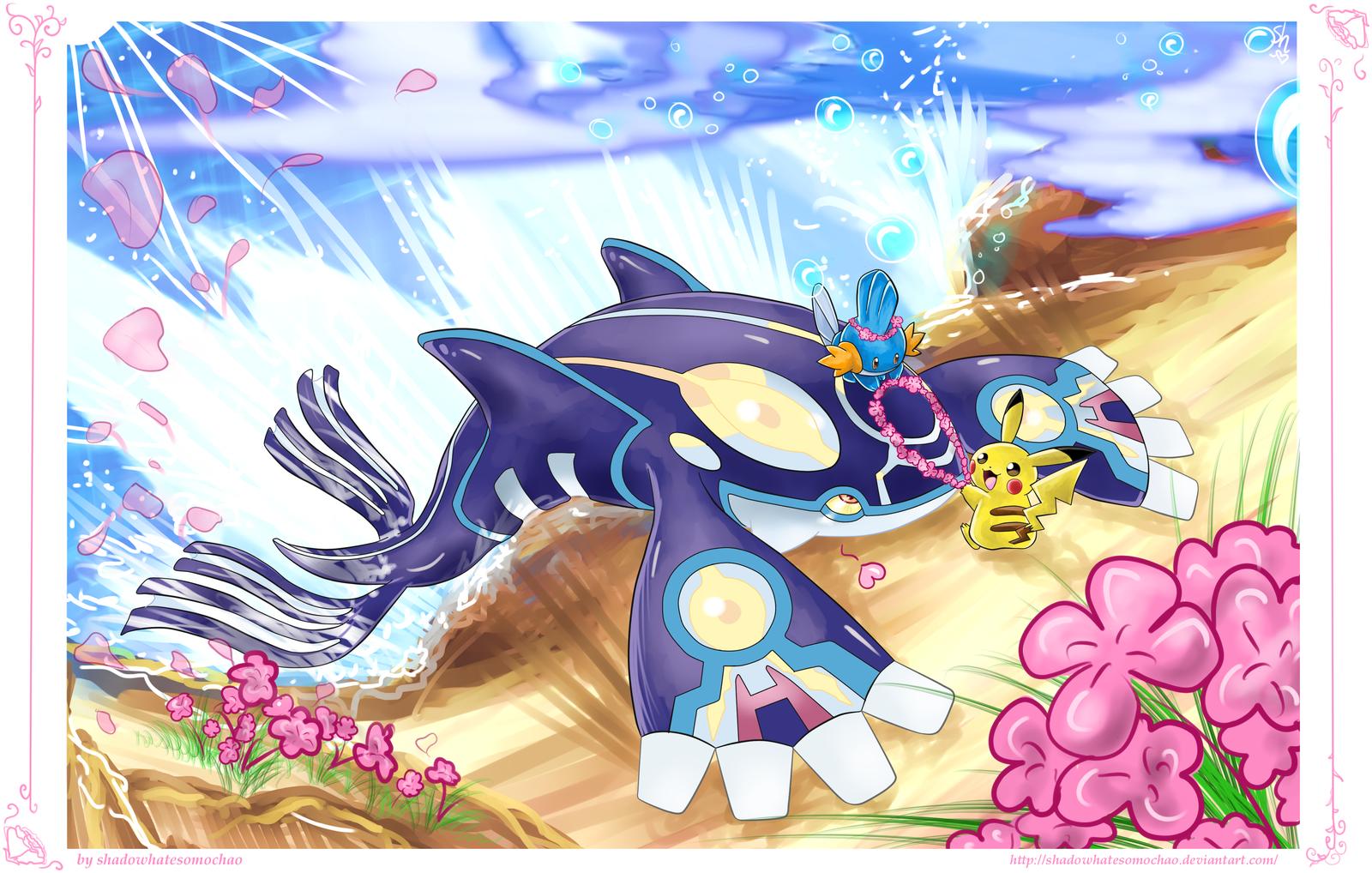 Pokemon Alpha Sapphire: Flowerfun by shadowhatesomochao