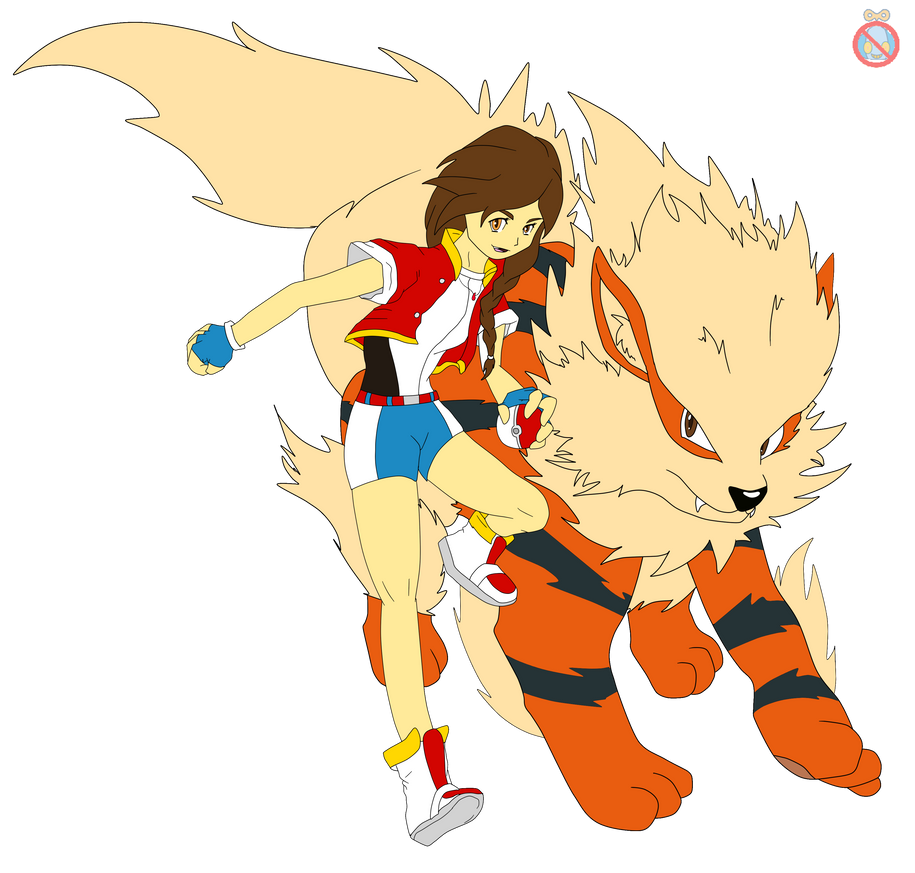 Cm pokemon oc and arcanine by shadowhatesomochao on - Arcanine pics ...