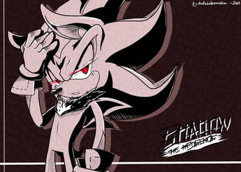 Shadow the hedgehog + speedpainting! by shadowhatesomochao