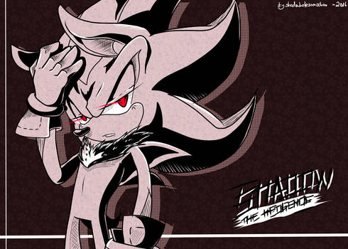 Shadow the hedgehog + speedpainting!