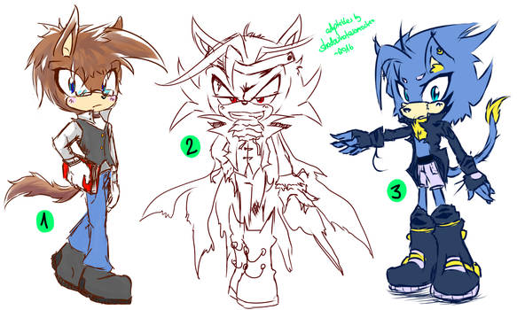 Sonic Adoptables #17 - cLOSED