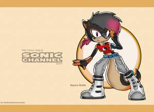 CM: Bayma Webb Sonic Channel Wallpaper